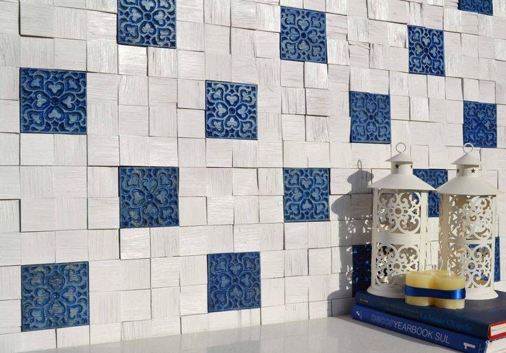 Brogliato Revestimentos - Coleção Vintage - V031 Azul - 30x30cm.