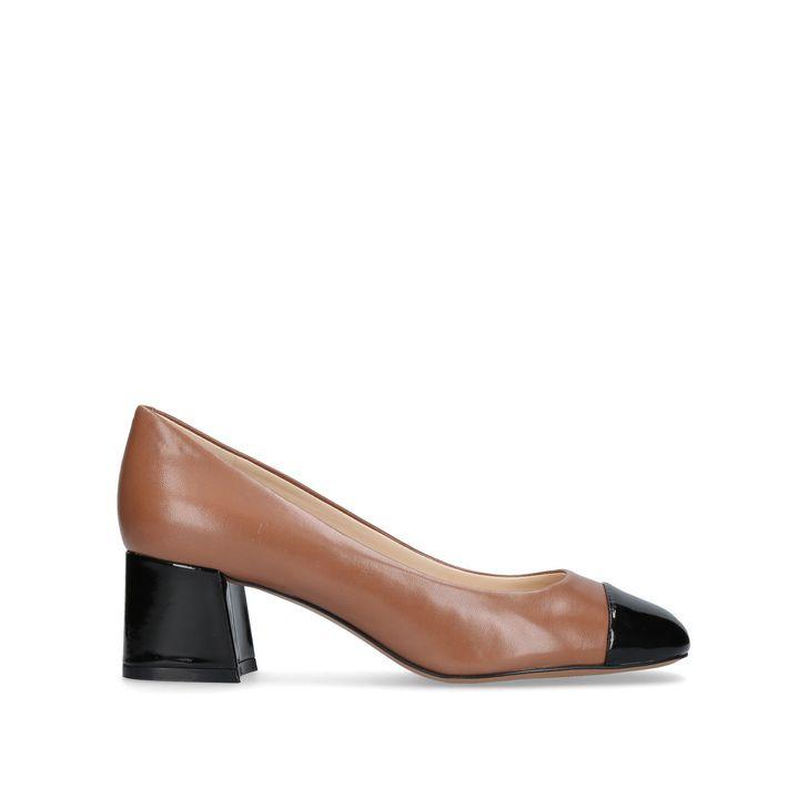 Zipzap Camel Mid Heel Court Shoes By Nine West | Kurt Geiger