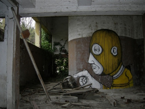 Interview with Italian street artist Seacreative- #StreetArt