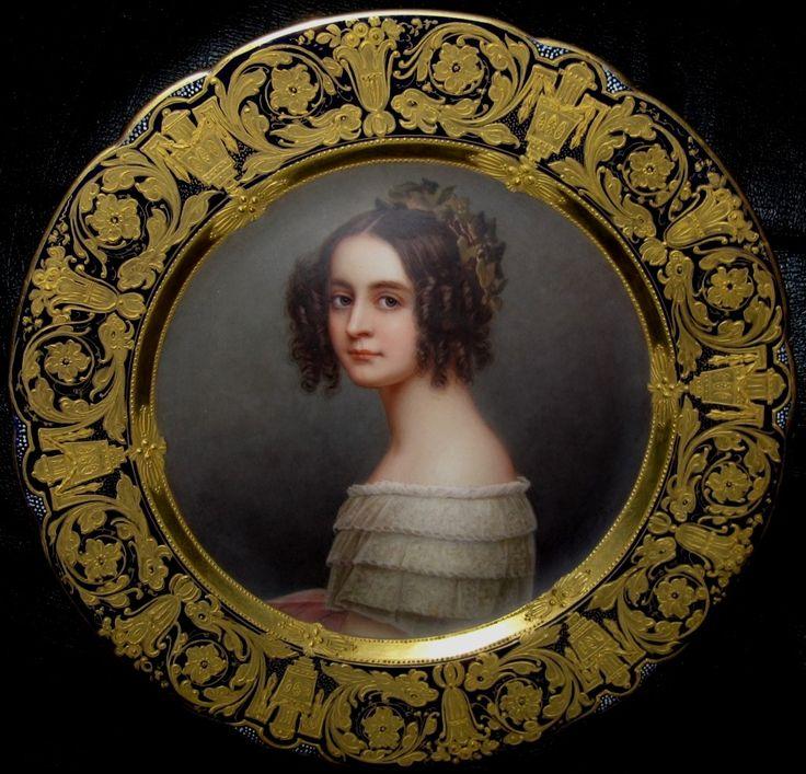 Штилер (Stieler) Йозеф Карл (1781-1858)  Принцесса Александра Амалия Баварская