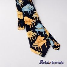 Music Tie - Grand Piano