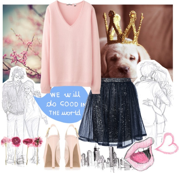 """""""Sketching Something Special"""" by lovelyocean ❤ liked on Polyvore"""