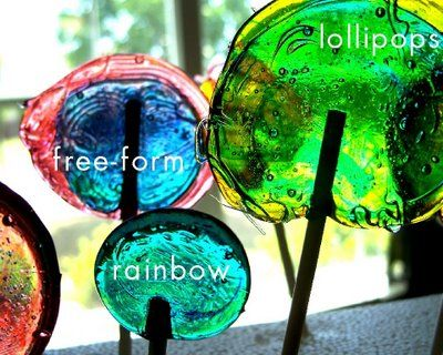 lollipop lab, for teaching about solids/liquids and temp. :)