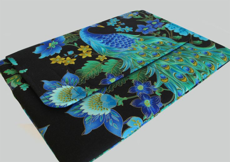 Laptop Sleeve, Tablet Case, Laptop Cover, Tablet Sleeve, Laptop Case, Tablet Cover, Laptop Bag, up to 13 Inch - Peacock by CathyKDesigns on Etsy