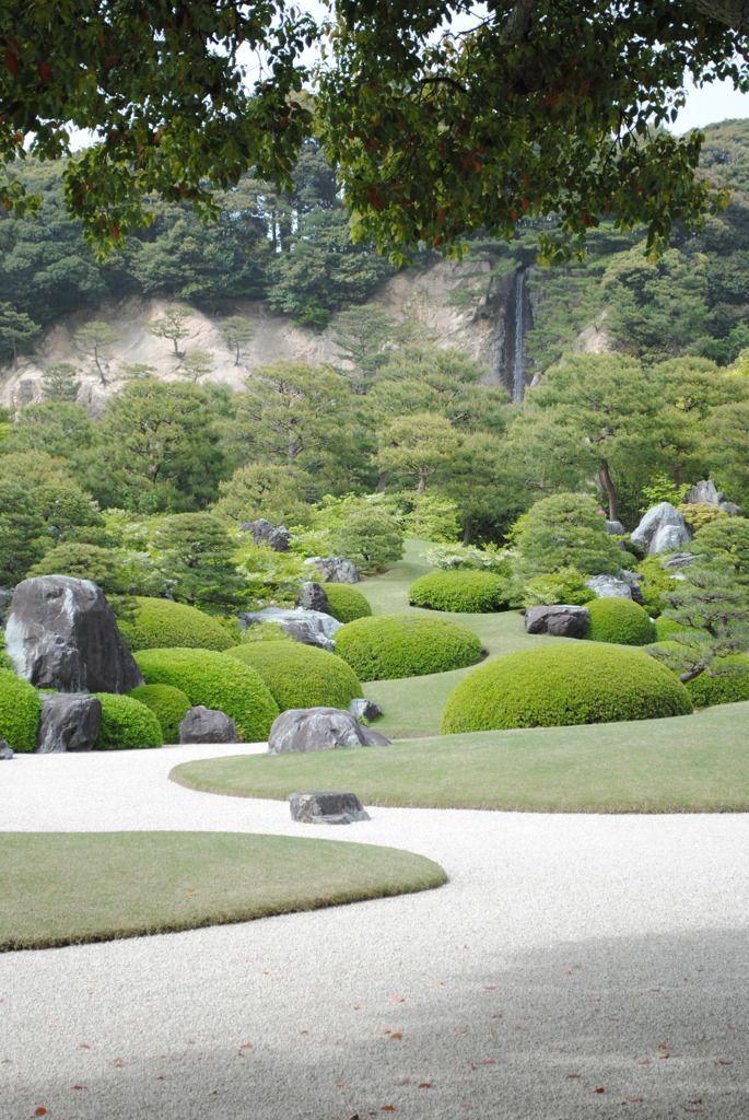 日本庭園、庭園、足立美術館