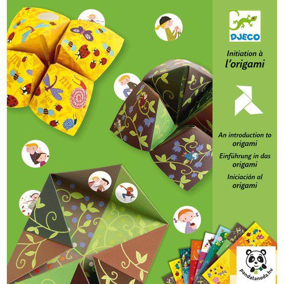 Csiki-csuki papírhajtogató készlet (Djeco) | Pandatanoda.hu Játék webáruház