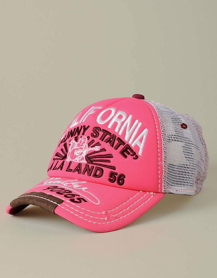 womens neon trucker cap hats true religion brand
