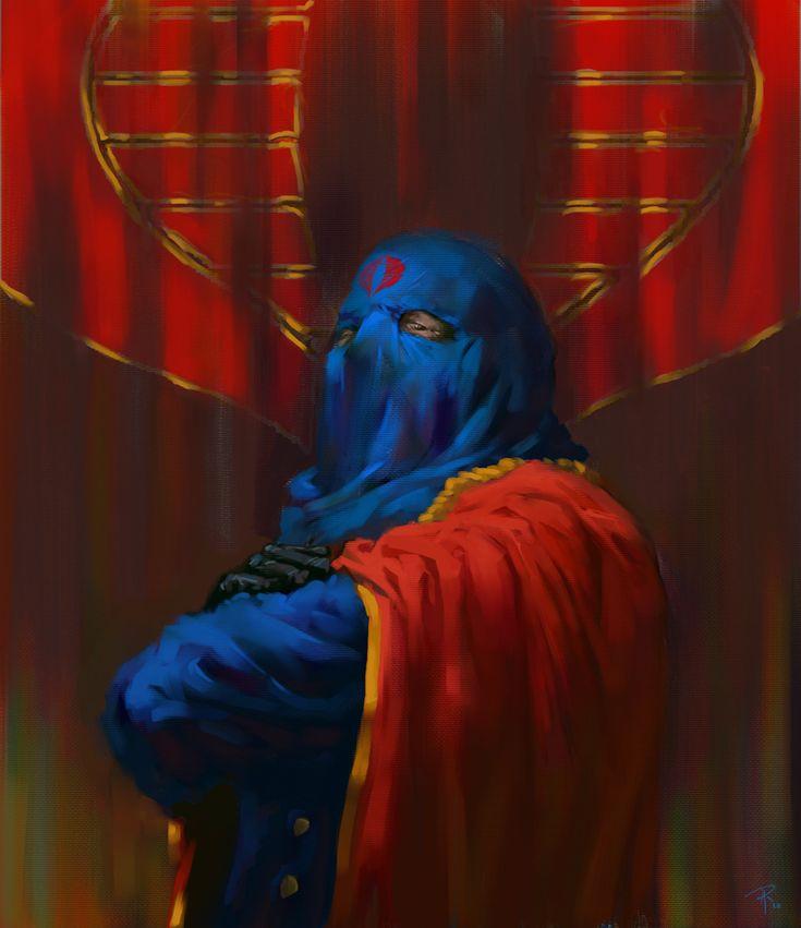 Cobra Commander - I don't have a lissssssp! by ~Rilez75 on deviantART