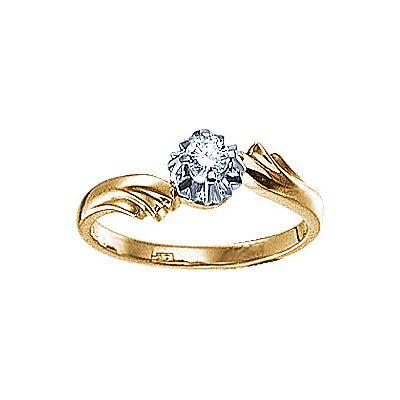 Золотое кольцо  17925RS http://topchasy.ru/index.php?route=product/product&product_id=175804  Price:  57 065.00 р.Кольцо с бриллиантом. 1 бриллиант 0,16 карат. Материал: красное золото 585 пр. Средний вес: 3.8 гр..