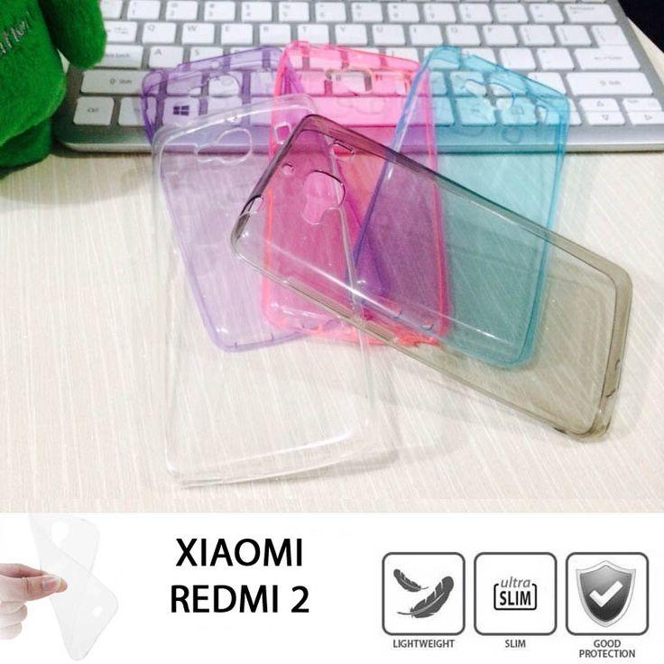 Colou TPU Slim 0.3mm Soft Case Xiaomi Redmi 2 - Rp 65.000 - kitkes.com