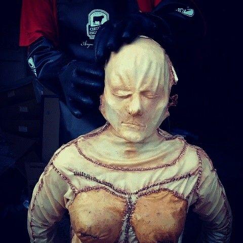 Bodies Expo costume. The Shopper. Mua Jill Burgner