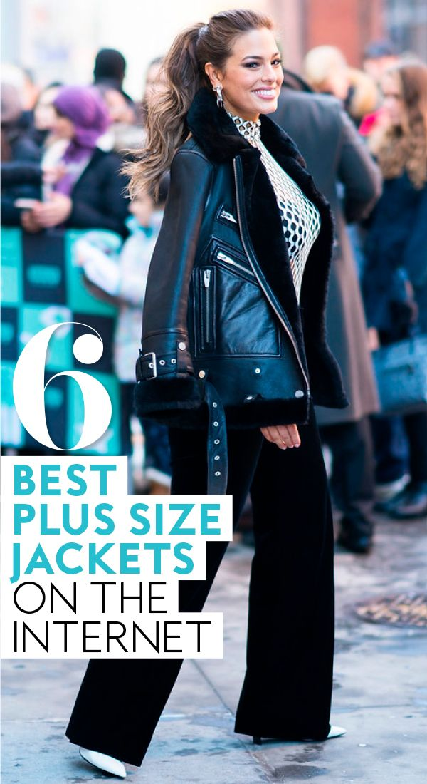 cad237305 The Best Plus-Size Leather Jackets on the Internet