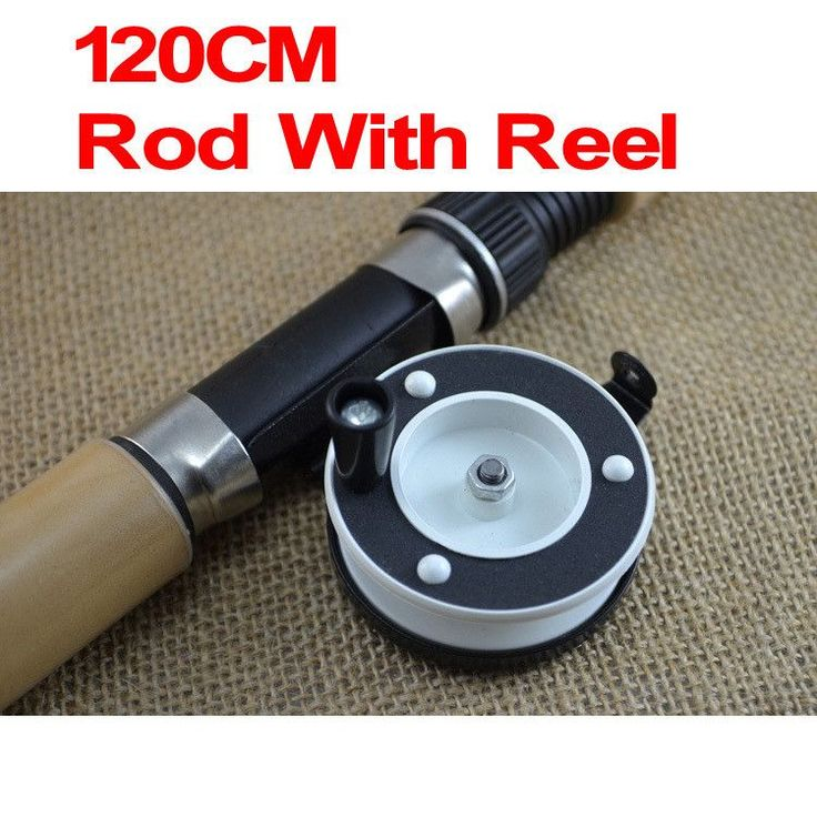 Small Size Cheap Price Winter Ice Fishing Rod 60cm 80cm 120cm Fishing Pole Fishing Tackle with Fishing Spool Combo Kit