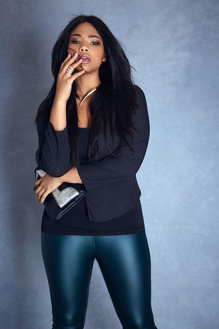 Fashion to Figure Leather Leggings