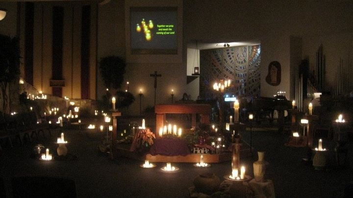Taize Prayer Service at St John Vianney Catholic Church - Monday, December 10, at 7:00pm- quiet, relaxing, prayerful music, candle light service.