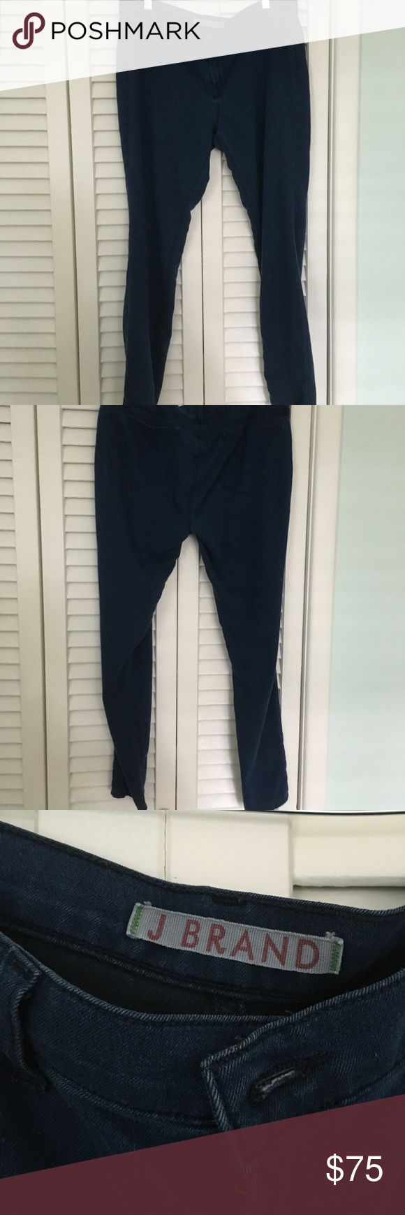 J Brand jeggings Ladies J Brand jeggings. Color Blue.  Size 32 perfect condition. 64 % cotton, 32 % polyester, 4 % Lycra J Brand Jeans