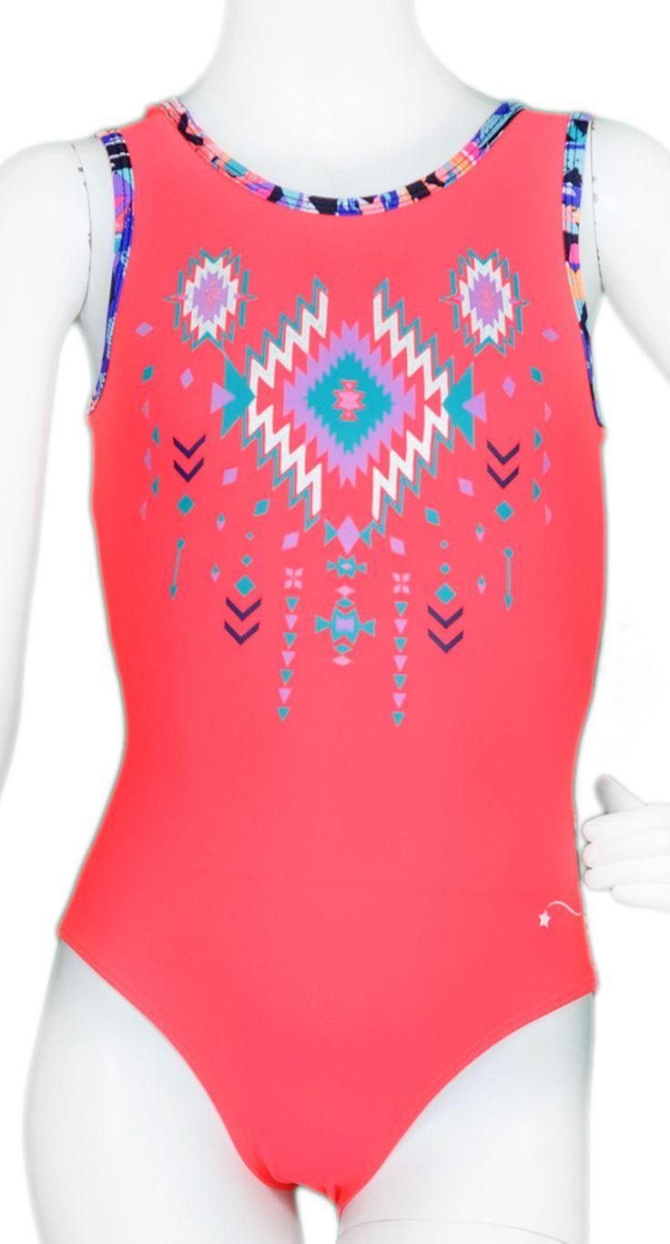 Aztec Vinyl Leotard #leotard #leotards #gymnast #gymnastics #performancewear #workout