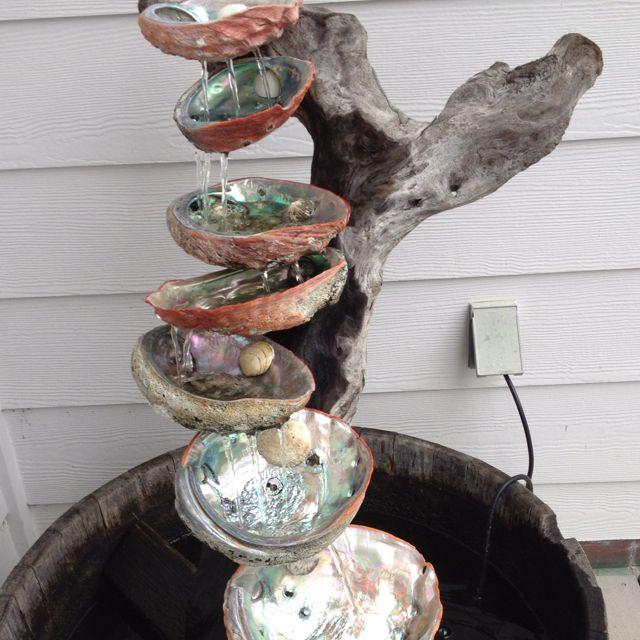 Abalone fountain
