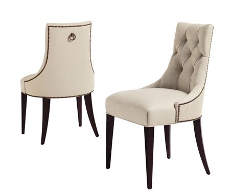 dining chairs...different color and no loop, but the shape is ideal