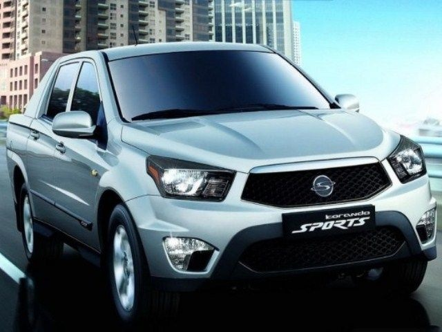 McCarthy Call-A-Car: New SSANGYONG Actyon Sports 2.3 D-Cab 4x4 PU MY12. www.callacar.co.za