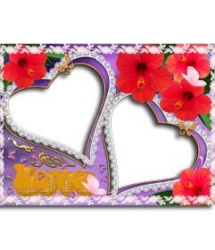 153 best images about tarjetas de amor on pinterest more - Composicion marcos pared ...