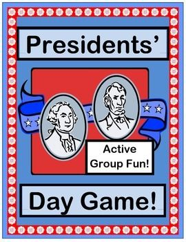 What do Presidents DO all day?  Play an ACTIVE GROUP GAME with 'TALKING POINTS' about what Presidents do when they serve our country.  WHITE HOUSE, WASHINGTON, LINCOLN, and OBAMA Craft Templates are included.  Learn an easy SONG-- no music skills needed!  (8 pages)  From Joyful Noises Express TpT!  $