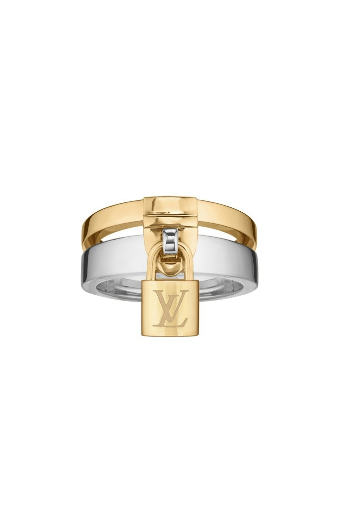 WANT! Louis Vuitton Joaillerie Unveils Lockit Collection  LV LOVE: Legend has it that if a couple attaches a padlock to a bridge and throws the key into the water below, their love will be sealed forever. (Such evidence is all over Europe, including the Pont des Arts footbridge over the Seine in Paris.)