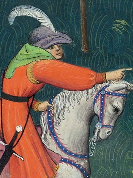 Le Livre de la Chasse. Fol 50. c 1407. Paris, France.