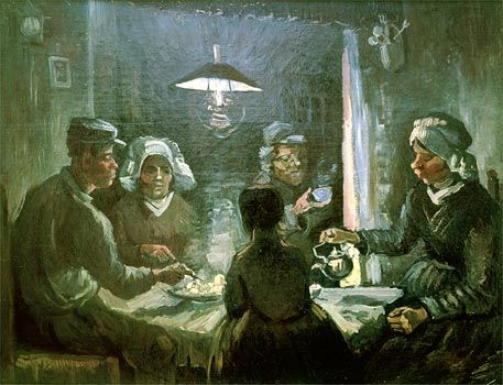 The Potato Eaters Painting by Van Gogh, The Potato Eaters Description and Analysis