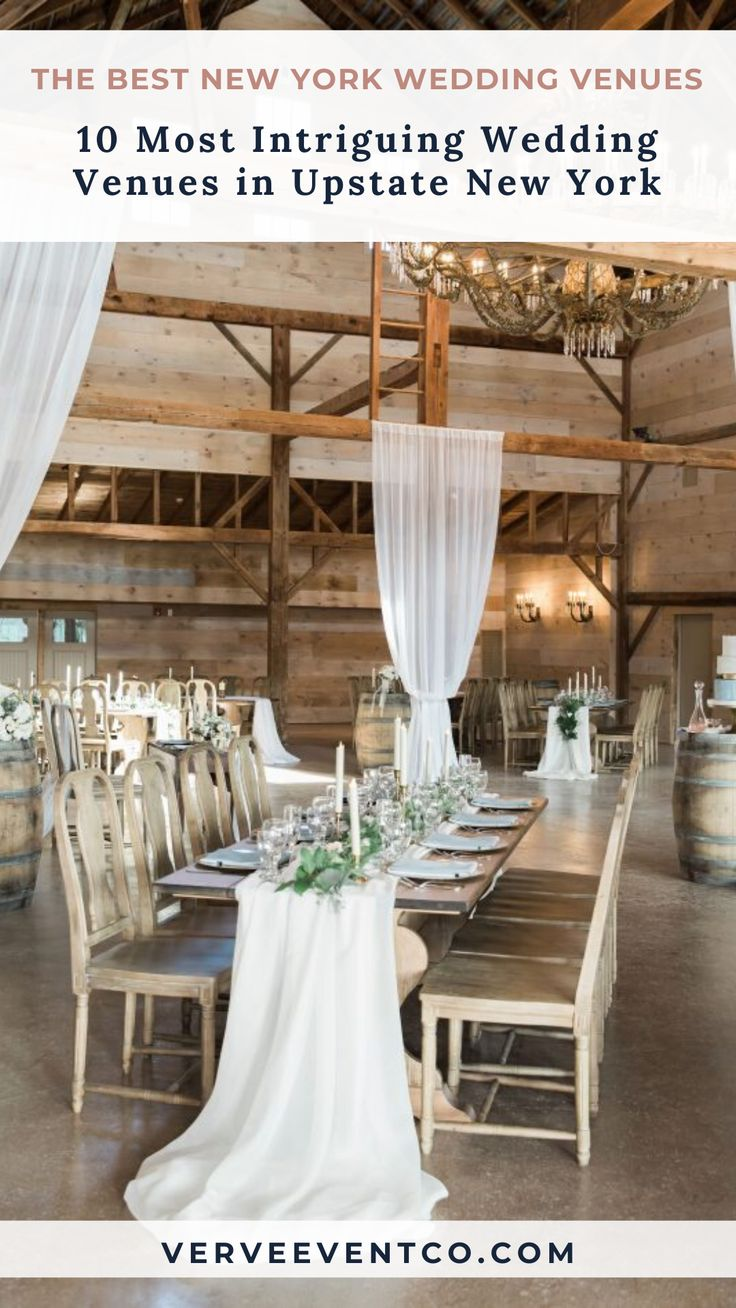 Verve's 10 Most Intriguing Wedding Venues in Upstate New