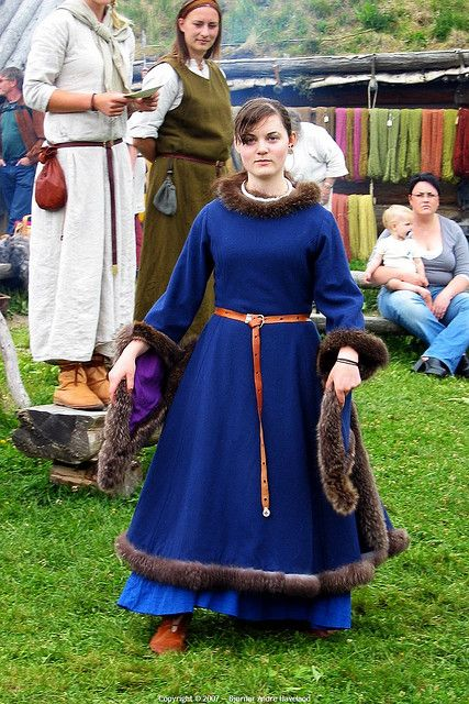 Viking fashion show