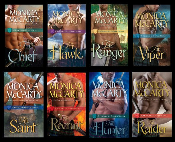 Highland Guard Series by Monica McCarty at The Reading Cafe: http://www.thereadingcafe.com/the-highland-guard-series-by-monica-mccarty-the-saint-the-recruit-and-the-hunter-combined-review/
