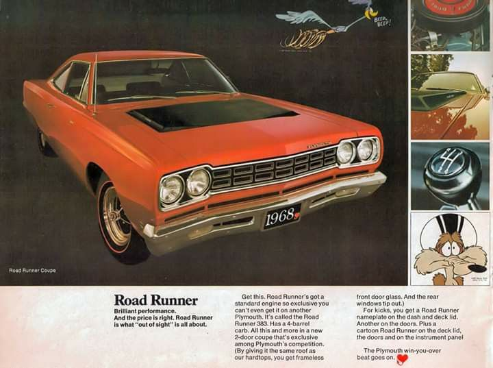 Pin By James T On Cars Classic Cars Muscle Plymouth Roadrunner Muscle Car Ads
