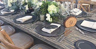 Mesa 8 - Renta de Equipo para Banquetes, Bodas, Eventos Mesas y Sillas
