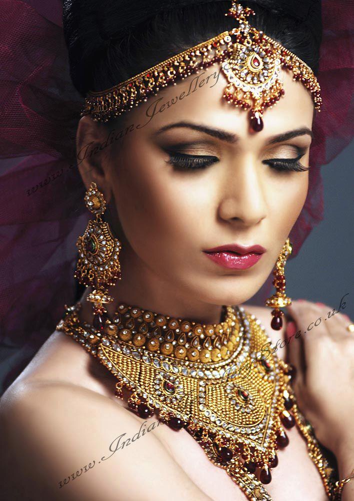 American Diamond Indian Bridal Set BARA0866