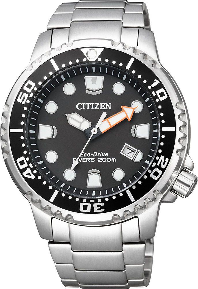 CITIZEN PROMASTER Eco-Drive GLOBAL MARINE  Diver BN0156-56E Mens from Japan #CITIZENPROMASTER