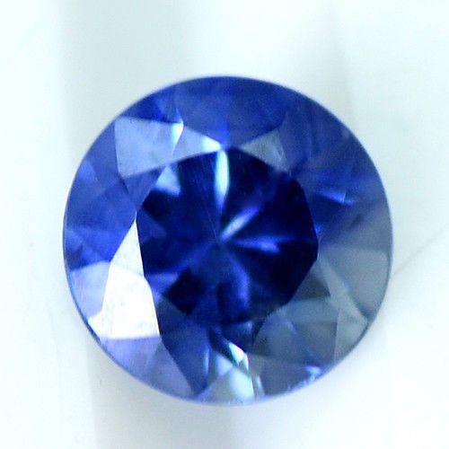Top Quality Diamond Cut Round Blue Sapphire Natural Gemstone Sri Lanka Xmas Sale #Unbranded