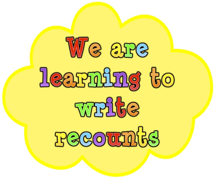 Recount writing centre title. Classroom Treasures: Writing