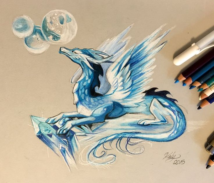 851 best clay dragons images on Pinterest Elves, Monsters and - best of coloring pages of ice dragons