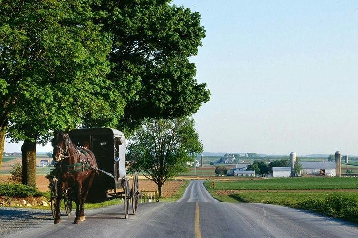 Amish country, near Lancaster, PA.