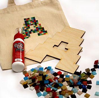Pixelated Mosaic Letter Kit