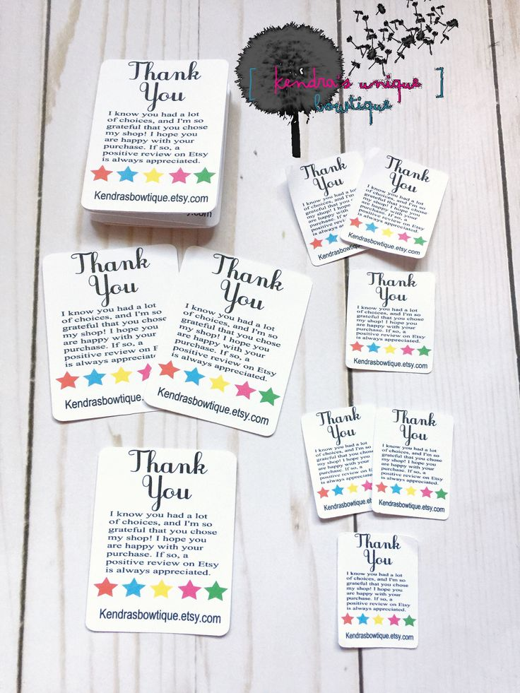 thank you follow me cards tiny thank you cards thank you etsy
