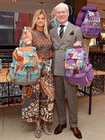 Star Tracks: Monday, December 14, 2015 | HELPING OUT | Tim Gunn and Project Runway Junior challenge winner, Peytie, 15, celebrate her backpack design with Lands' End inspired by the goal of helping girls globally receive an education with the President and First Lady's Let Girls Learn initiative.