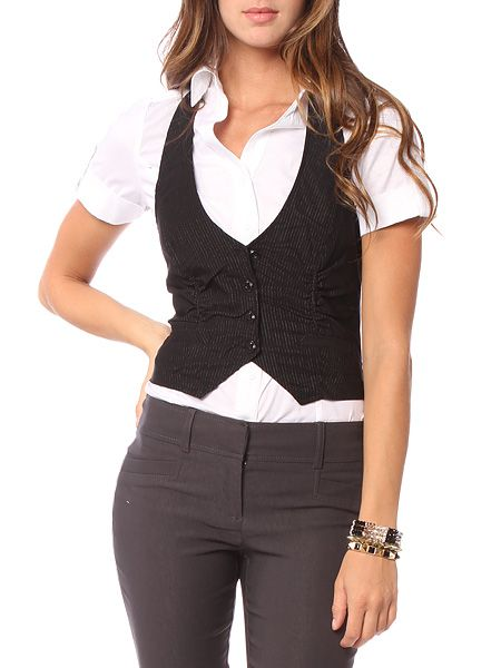 1000+ images about Bartender Fashion on Pinterest | Vests Its you and Emma watson