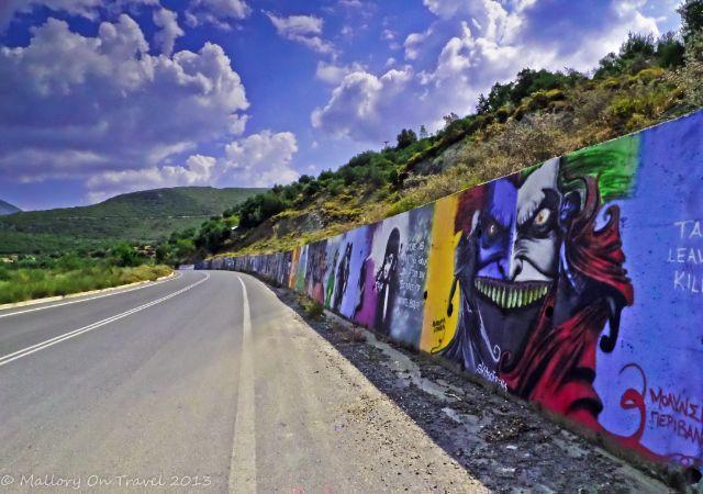The Greek Peloponnese Street Art Gallery, Kalamata - Mallory On Travel