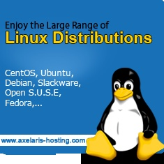Enjoy a large range Linux Distributions from AXELARIS