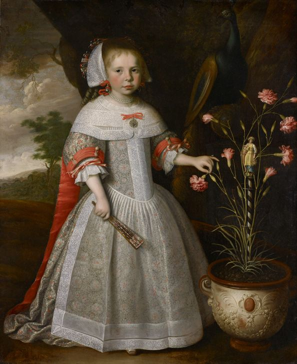 Jan Albertsz Rotius - Portrait of a Girl