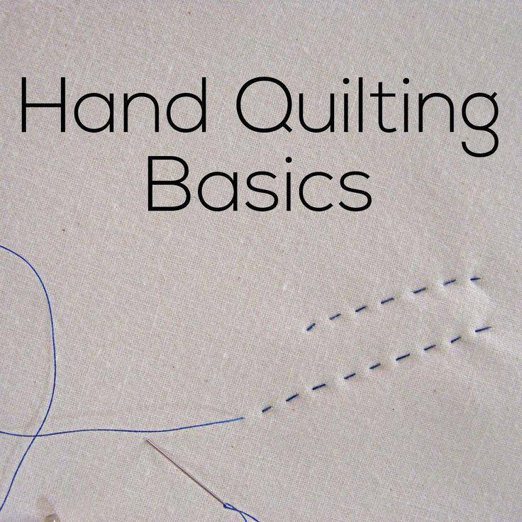 25+ unique Hand quilting ideas on Pinterest DIY hand quilting, Easy hand quilting and Quilting