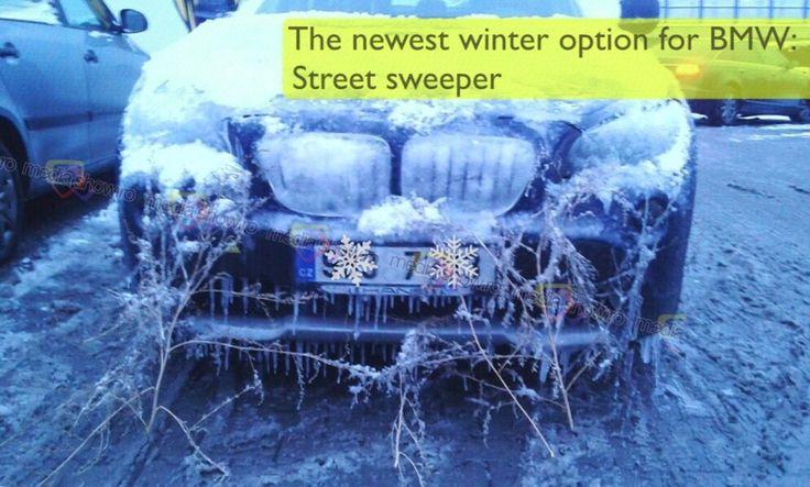 BMW Winter Street Sweeper
