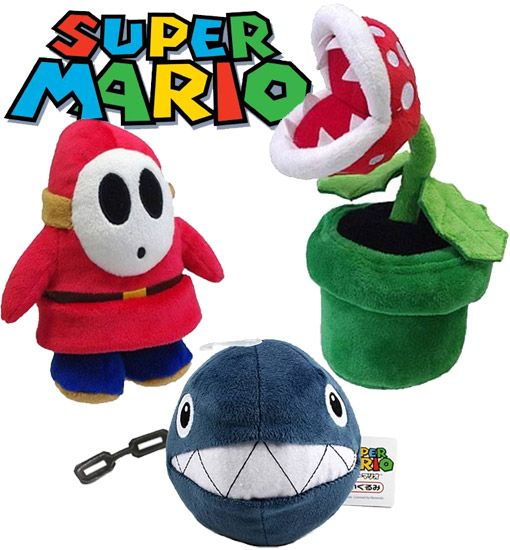 Super Mario Series 3 Plush